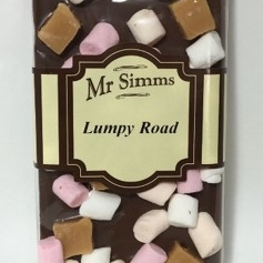 Mr Simms Lumpy Road Chocolate Bar