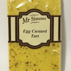 Mr Simms Egg Custard Tart